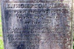 Elijah Thompson Abell