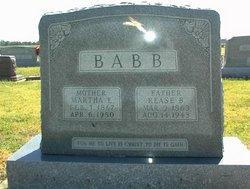 Rease Bone Babb