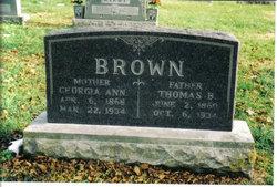 Georgia Ann <i>Brooks</i> Brown