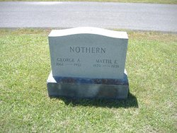 Martha Elizabeth Mattie <i>Herring Adair</i> Nothern