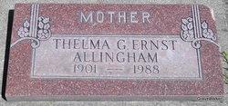 Thelma G. <i>Ernst</i> Allingham