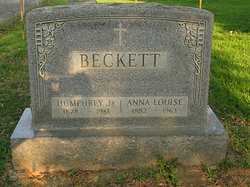 Humphrey Beckett, Jr
