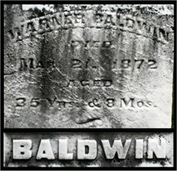 Sgt Warner Baldwin