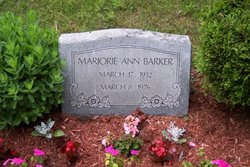 Marjorie A <i>Young</i> Barker