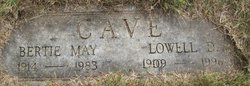 Lowell Donald Cave