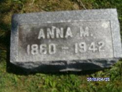 Anna M. Unknown