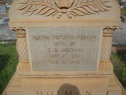 Aletha Victoria <i>Hillman</i> Holman