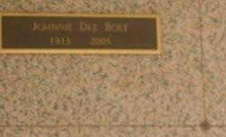 Johnnie Dee <i>Peacock</i> Bolt