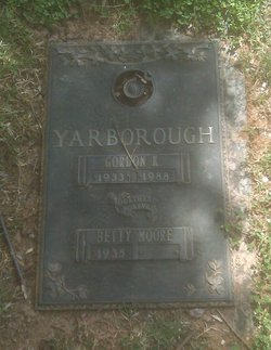 Betty <i>Moore</i> Yarborough