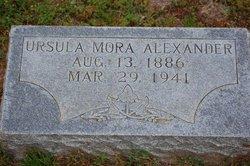 Ursula Mora Alexander, Sr