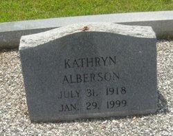 Kathryn Alberson