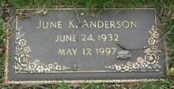 June Katherine <i>Madsen</i> Anderson