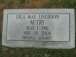 Lola Mae <i>Lineberry</i> Autry