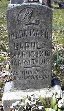 Hilda Maxine Barnes