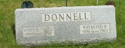 Mary A. <i>Freed</i> Donnell
