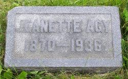 Jeanette Agy