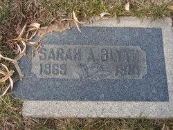 Sarah Ann <i>Chatwin</i> Blyth