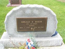 Corp Gerald Keith Baker