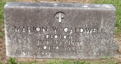 Marion Wilson Caldwell