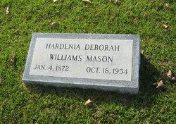 Hardenia Deborah Dee <i>Williams</i> Mason