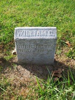 William G Burkhalter