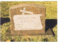 Dorothy Faye <i>Milburn</i> McKinstry