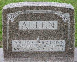 Fannie Mary <i>Oakley</i> Allen