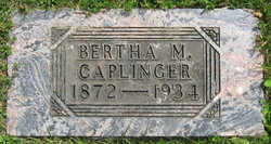 Bertha May Bertie <i>Stoops</i> Caplinger
