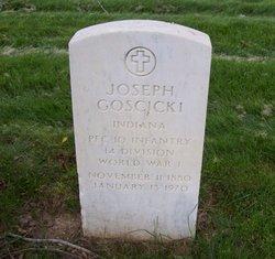 PFC Joseph Goscicki