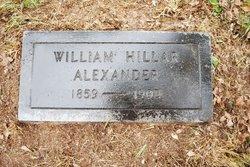 William Hillar Alexander