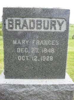 Mary Frances <i>Ellison</i> Bradbury