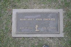 Margaret Ann Emerick