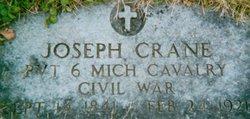 Pvt Joseph Crane