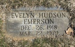 Evelyn <i>Hudson</i> Emerson
