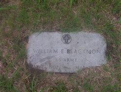 William Earl Bill Blackmon