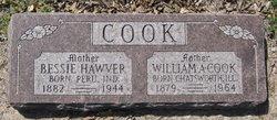 Bessie <i>Hawver</i> Cook