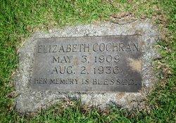 Myrtle Elizabeth <i>McCurry</i> Cochran