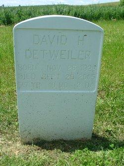 David H. Detweiler