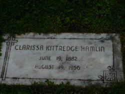 Clarissa Marie <i>Kittredge</i> Hamlin