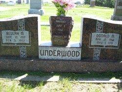 Beulah Madeline <i>Golgert</i> Underwood