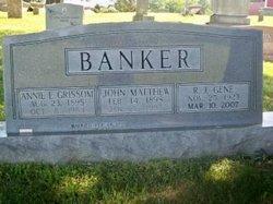 Annie E. <i>Grissom</i> Banker