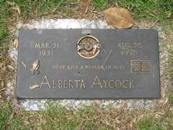 Alberta Aycock
