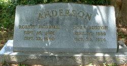 Dora <i>Burton</i> Anderson