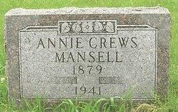 Annie <i>Crews</i> Mansell