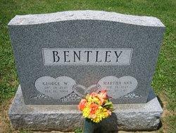 Martha Ann Bentley