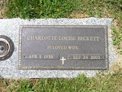 Charlotte Louise <i>Clark</i> Beckett
