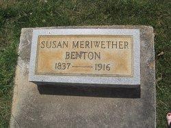 Susan <i>Meriwether</i> Benton
