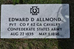 Pvt Edward D. Allmond