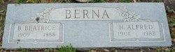 Birdie Beatrice <i>Garner</i> Berna