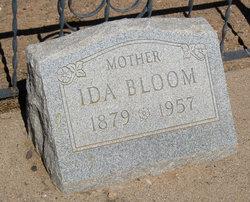 Ida Ellen <i>Kienzle</i> Bloom